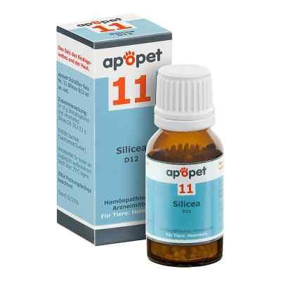 Apopet Schüssler-salz Nummer 11  Silicea D 12 Globuli veterinär   bei apo.com bestellen