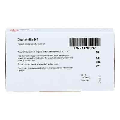 Chamomilla D 4 Ampullen  bei apo.com bestellen
