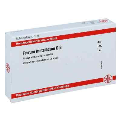 Ferrum Metallicum D 8 Ampullen  bei apo.com bestellen