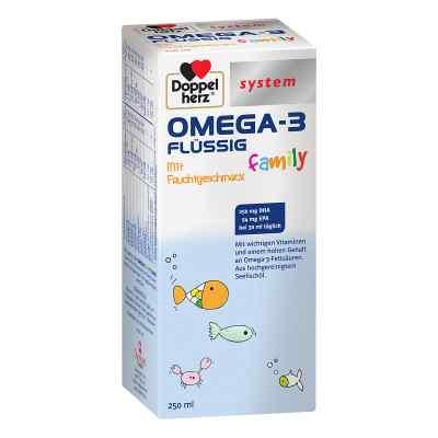 Doppelherz Omega-3 family flüssig system  bei apo.com bestellen