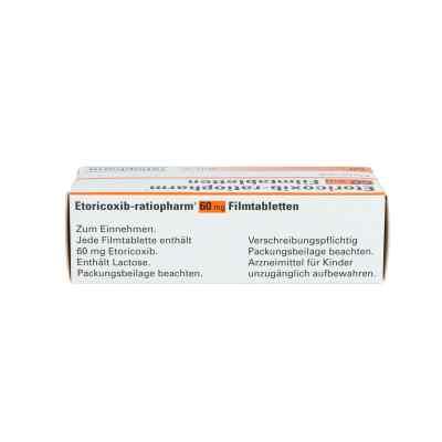 Etoricoxib ratiopharm 60 mg Filmtabletten  bei apo.com bestellen