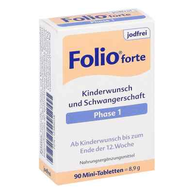 Folio 1 forte jodfrei Filmtabletten  bei vitaapotheke.eu bestellen