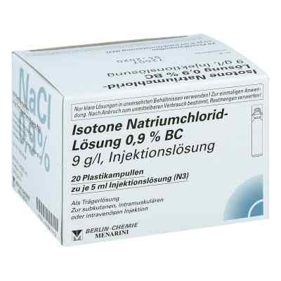 Isotone Nacl Lösung 0,9% Bc Plastik amp.inj.-lsg.  bei apotheke-online.de bestellen