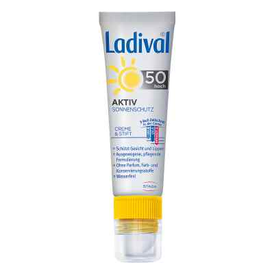 Ladival Aktiv Sonnenschutz für Gesicht und Lipp.LSF 50  bei vitaapotheke.eu bestellen