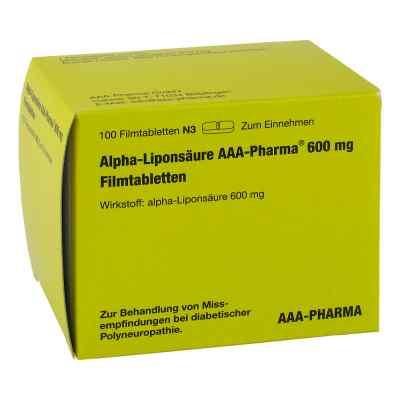 Alpha Liponsäure Aaa Pharma 600 mg Filmtabletten  bei apo.com bestellen