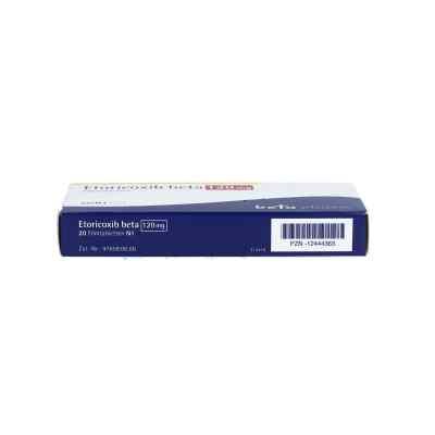 Etoricoxib beta 120 mg Filmtabletten  bei apo.com bestellen