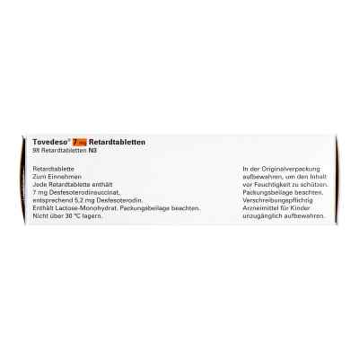 Tovedeso 7 mg Retardtabletten  bei apo.com bestellen