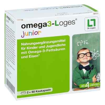 Omega 3-loges junior Kaudragees  bei vitaapotheke.eu bestellen