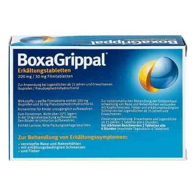 Boxagrippal Erkältungstabletten 200 mg/30 mg Fta  bei apo.com bestellen