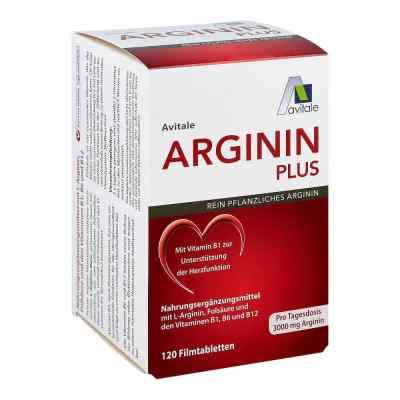 Arginin plus Vitamin B1+b6+b12+folsäure Filmtabletten  bei apo.com bestellen