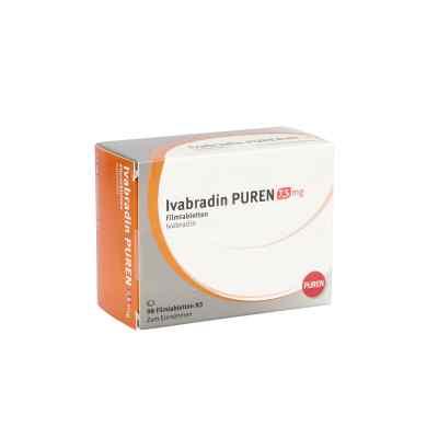 Ivabradin Puren 7,5 mg Filmtabletten  bei apo.com bestellen