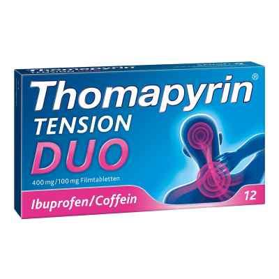 Thomapyrin TENSION DUO 400mg/100mg bei Kopfschmerzen  bei apo.com bestellen