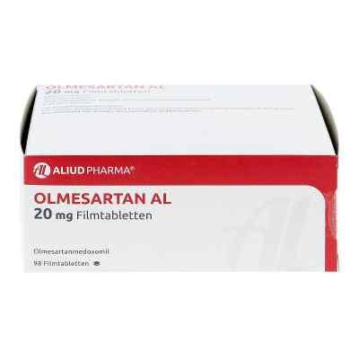 Olmesartan Al 20 mg Filmtabletten  bei apo.com bestellen