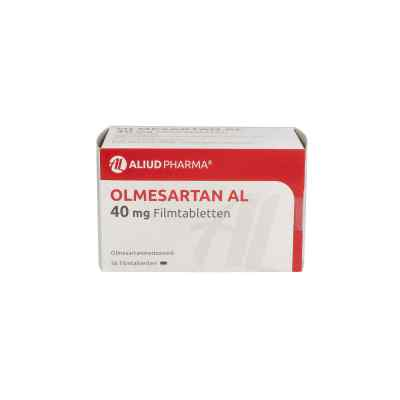 Olmesartan Al 40 mg Filmtabletten  bei apo.com bestellen