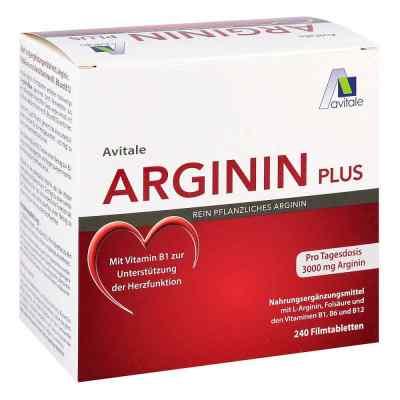 Arginin plus Vitamin B1+b6+b12+folsäure Filmtabletten   bei vitaapotheke.eu bestellen