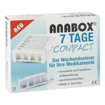 Anabox 7 Tage Compact Wochendosierer weiss  bei apo.com bestellen