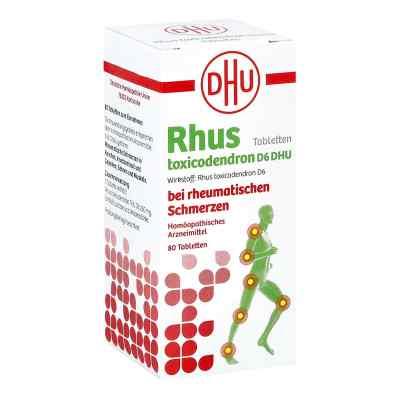 Rhus Tox. D6 Dhu bei rheumatischen Schmerzen Tabletten   bei apo.com bestellen