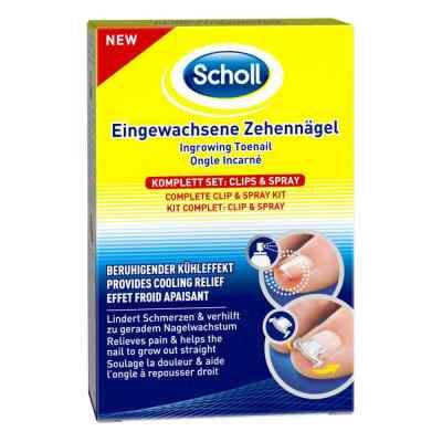 Scholl Eingewachsene Zehennägel Clips & Spray  bei vitaapotheke.eu bestellen