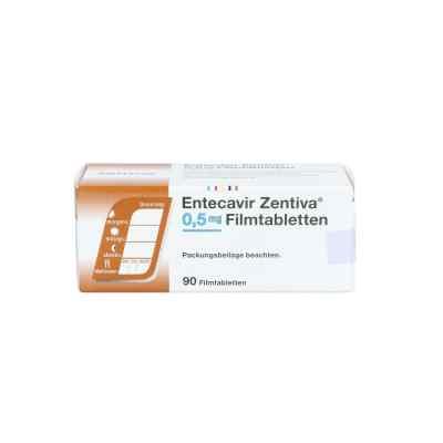 Entecavir Zentiva 0,5 mg Filmtabletten  bei apo.com bestellen