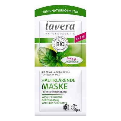 Lavera hautklärende Maske Minze 4sprachig  bei apo.com bestellen