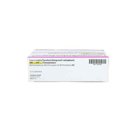 Emtricitabin/tenofovir ratiopharm 200mg/245mg Fta  bei apo.com bestellen