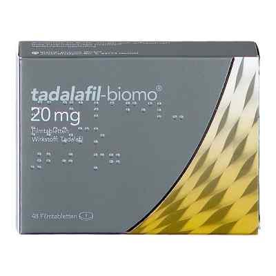 Tadalafil biomo 20 mg Filmtabletten  bei apo.com bestellen