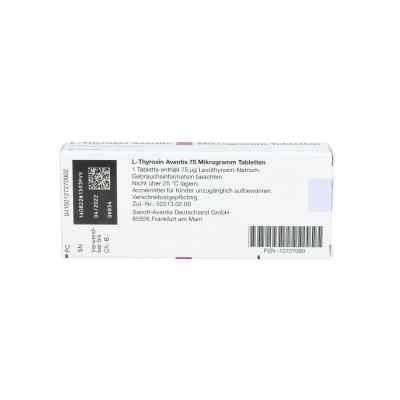 L-thyroxin Aventis 75 [my]g Tabletten  bei apo.com bestellen