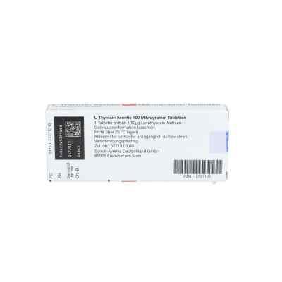 L-thyroxin Aventis 100 [my]g Tabletten  bei apo.com bestellen