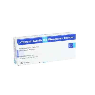 L-thyroxin Aventis 125 [my]g Tabletten  bei apo.com bestellen