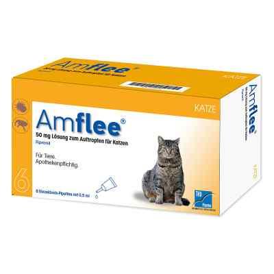 Amflee 50 mg Spot-on Lösung zur, zum Auftropfen für Katzen  bei apo.com bestellen