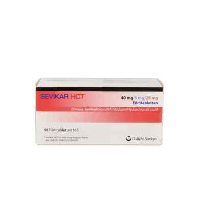 Sevikar Hct 40 mg/5 mg/25 mg Filmtabletten  bei apo.com bestellen