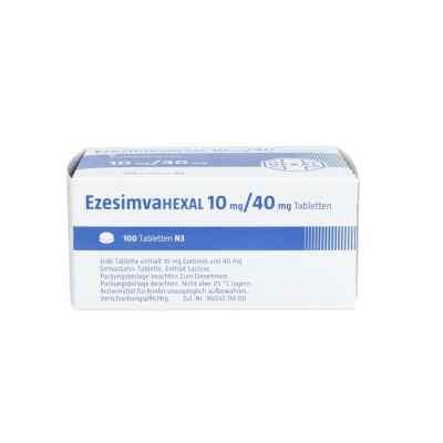 Ezesimvahexal 10 mg/40 mg Tabletten  bei apo.com bestellen