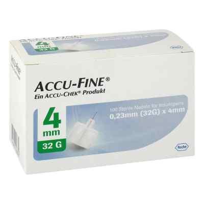Accu Fine sterile Nadeln für Insulinpens 4 mm 32 G  bei apo.com bestellen