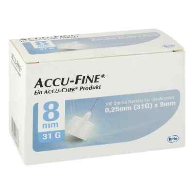 Accu Fine sterile Nadeln für Insulinpens 8 mm 31 G  bei apo.com bestellen