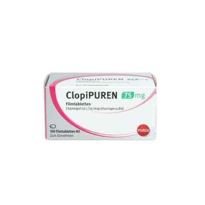 Clopipuren 75 mg Filmtabletten  bei apo.com bestellen