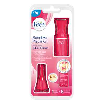 Veet Sensitive Precision Haartrimmer Rasierer pink  bei vitaapotheke.eu bestellen