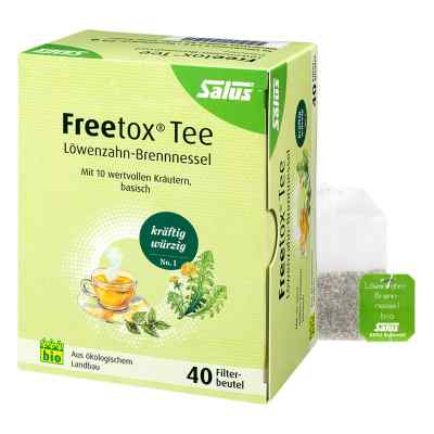 Freetox Tee Löwenzahn-brennnessel Bio Salus Fbtl.  bei vitaapotheke.eu bestellen