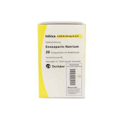 Inhixa 4.000 I.e. 40 mg/0,4 ml iniecto lsg.i.e.f.-sp.  bei apo.com bestellen