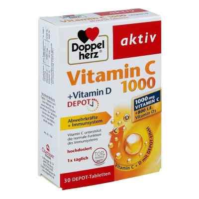 Doppelherz aktiv Vitamin C 1000+vitamin D Depot  bei vitaapotheke.eu bestellen