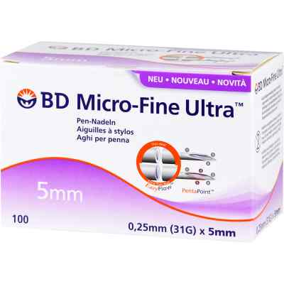 Bd Micro-fine Ultra Pen-nadeln 0,25x5 mm  bei apo.com bestellen