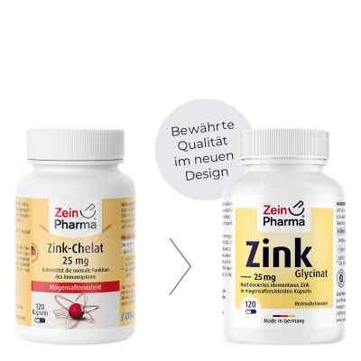 Zink Chelat 25 mg in magensaftresist.veg.Kaps.  bei apo.com bestellen