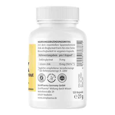 Zink Chelat 15 mg in magensaftresist.veg.Kaps.  bei apo.com bestellen
