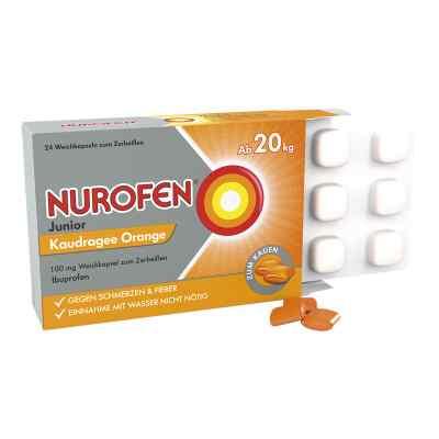 Nurofen Junior Kaudragee Orange 100 mg  bei apo.com bestellen