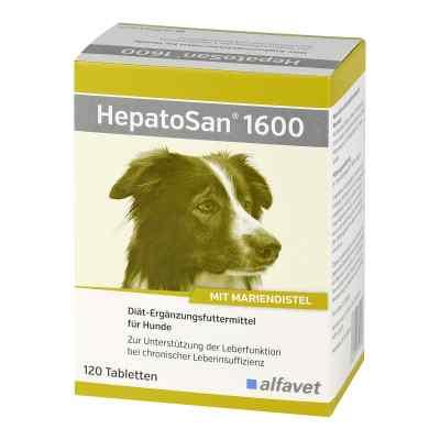 Hepatosan 1600 Tab.ergänzungsfutterm.f.hund/katze  bei apo.com bestellen