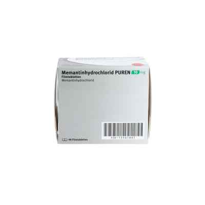 Memantinhydrochlorid Puren 10 mg Filmtabletten  bei apo.com bestellen