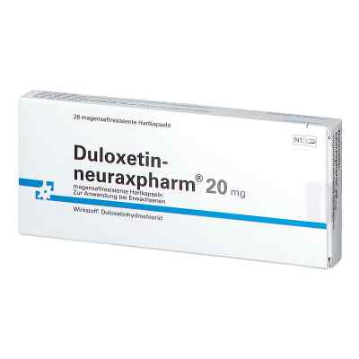 Duloxetin neuraxpharm 20 mg magensaftresistent hartkapsel  bei apo.com bestellen
