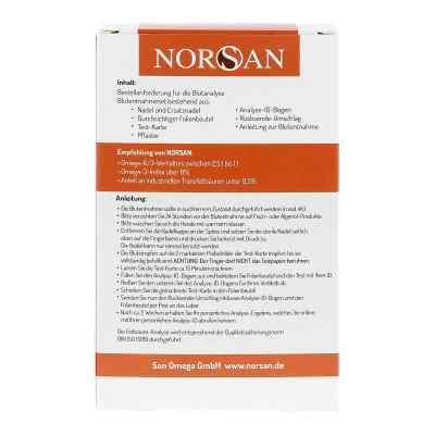 Fettsäure-Analyse Selbsttest Norsan  bei apo.com bestellen