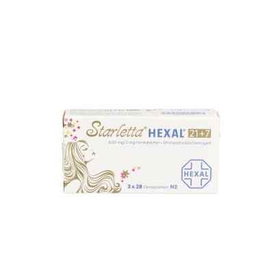 Starletta Hexal 21+7 0,03 mg/2 mg Filmtabletten  bei apo.com bestellen