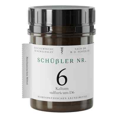 Schüssler Nummer 6  Kalium sulfuricum D 6 Tabletten  bei apo.com bestellen