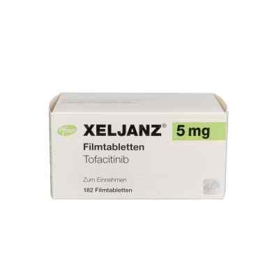 Xeljanz 5 mg Filmtabletten  bei apo.com bestellen